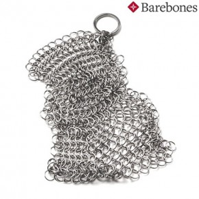 Miếng rửa chảo gang chain mail cleaner Barebones CKW-330
