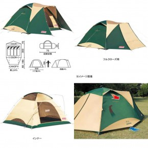 LỀU COLEMAN JAPAN TOUGH WIDE DOME IV/300 (GREEN)
